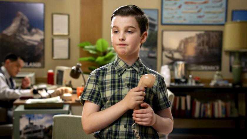 "Iain Armitage in ""Young Sheldon"" on CBS."