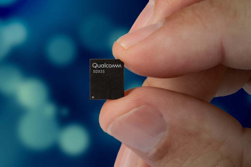 Qualcomm's 5G cellular modem chip