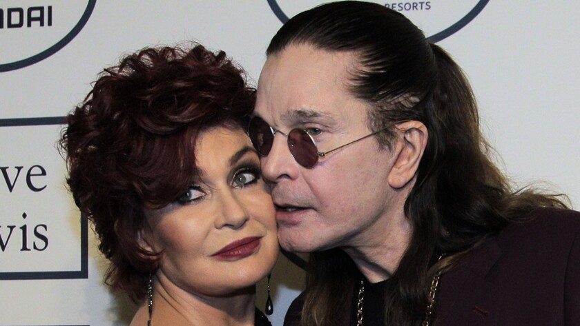 Sharon and Ozzy Osbourne in 2014.