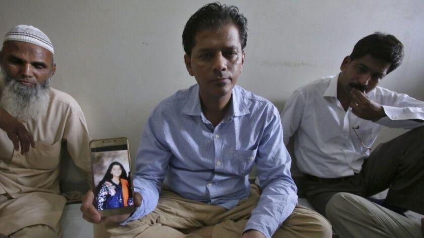 Family of Pakistani girl killed in Texas school shooting begs U S