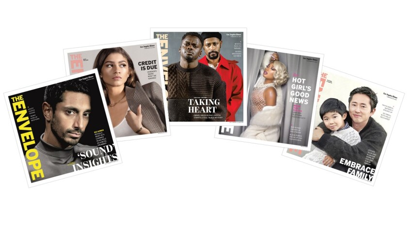 A selection of covers from L.A. Times' The Envelope