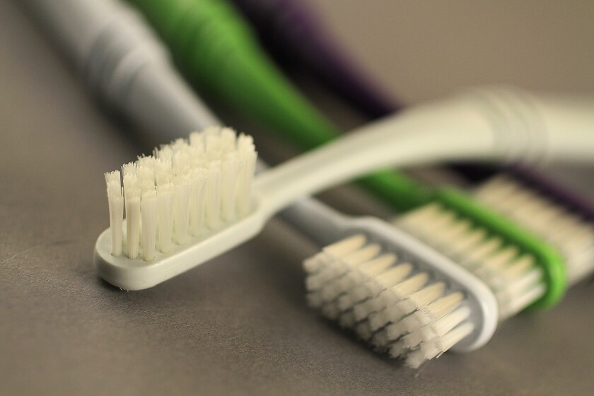 "The best way to avoid tooth and gum problems: ""Brush twice a day, floss once a day and see your dentist,"" says Edmond R. Hewlett, a professor at the UCLA School of Dentistry."