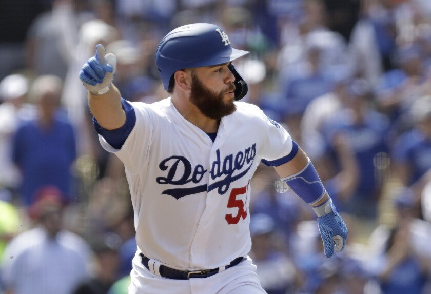 Dodgers Russell Martin knows his walk-off single in the ninth inning driving in two runs to beat the Cardinals on Wednesday at Dodger Stadium.