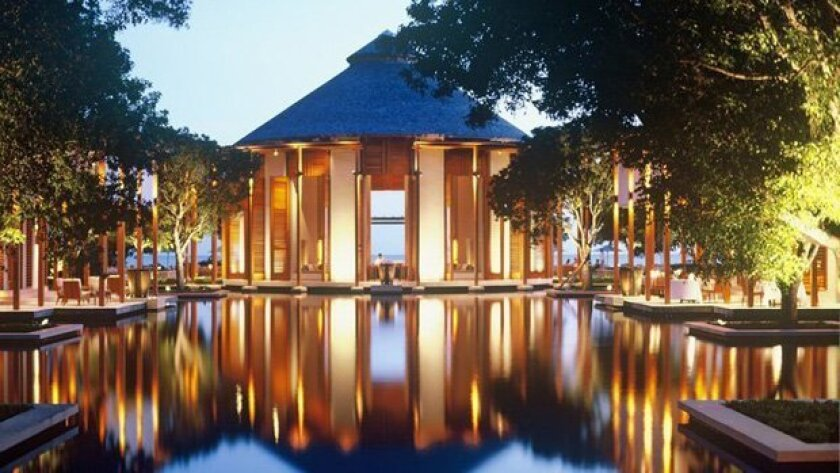 Amanyara resort in the Turks & Caicos
