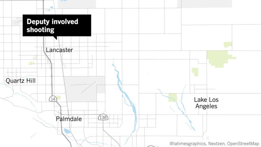 This map shows where Lancaster is located.