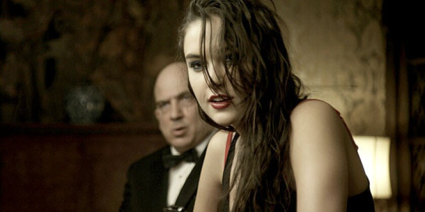 """Jonny Coyne and Sasha Grey in a scene from """"Would You Rather."""""""