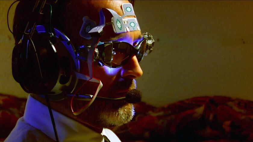"""Kenneth Hughes in the movie """"Einstein's God Model."""""""
