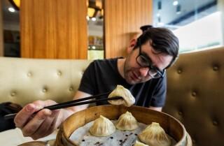 Shanghai's dumpling delicacy known as xiao long bao
