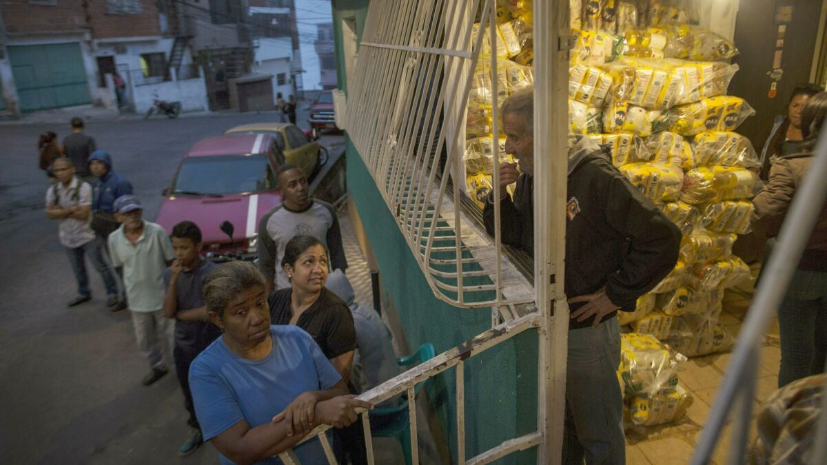 Food isn't just a dire need in Venezuela — it has become a