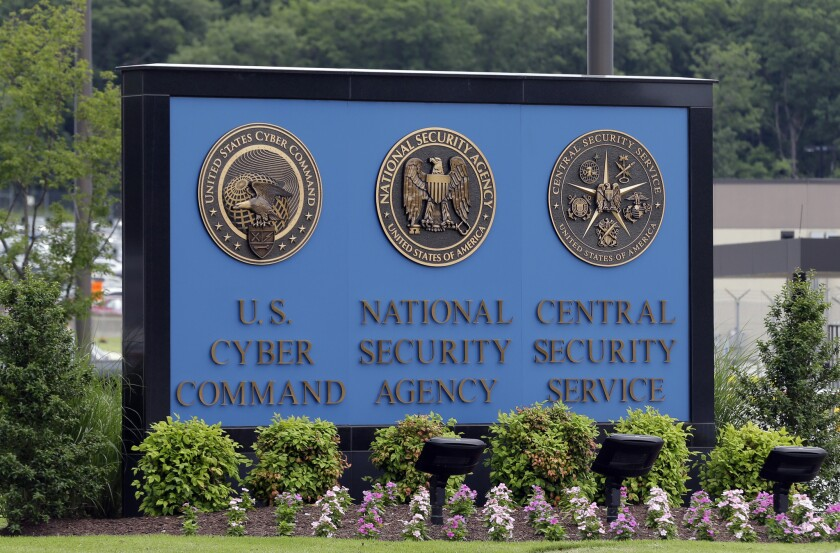 The Pentagon's Cyber Command and the National Security Administration, with headquarters at Ft. Meade in Maryland, are looking for ways to deter foreign cyberattacks against U.S. government and business targets.