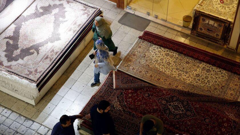 US set to re-impose sanctions against Iran, Tehran, Iran (Islamic Republic Of) - 06 Aug 2018