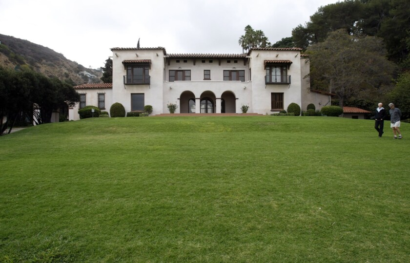 The 1907 mansion still remains on the park grounds today, but is only open for private events.