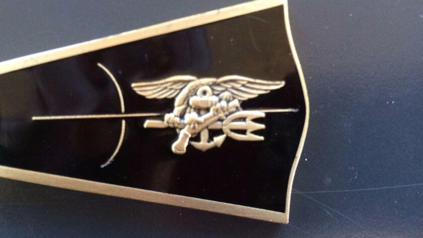 Navy SEAL insignia ( )