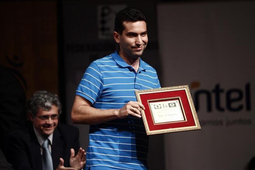 El ajedrecista cubano Yuniesky Quesada. EFE/Archivo