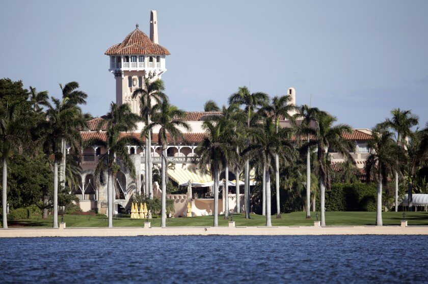 Mar-a-Lago resort in Palm Beach, Fla., has been the scene of several intrusions since Trump became president.
