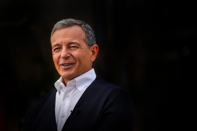 Disney CEO Bob Iger was paid $48 million in 2019. That's down 28% from 2018