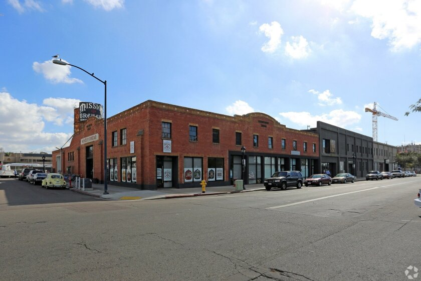 The Wonder Bread building at 171 14th St. is one of the privately owned properties needed to complete the stadium-convention center annex site.