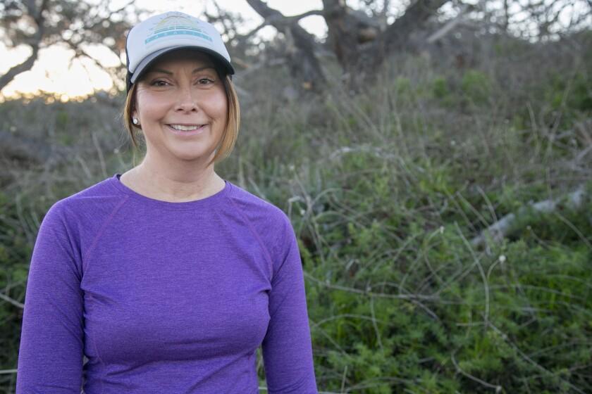 Bonnie Hatcher runs about 50 miles per week.