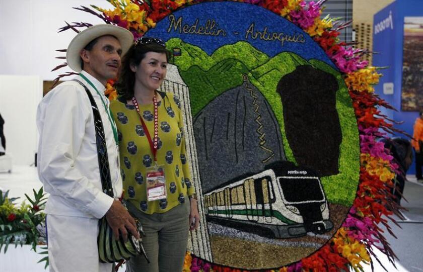 Según cifras oficiales, más de 528.000 estadounidenses visitaron Colombia el año pasado y de ellos 105.735 llegaron a Medellín, la segunda ciudad más visitada del país por los ciudadanos norteamericanos. EFE/Archivo