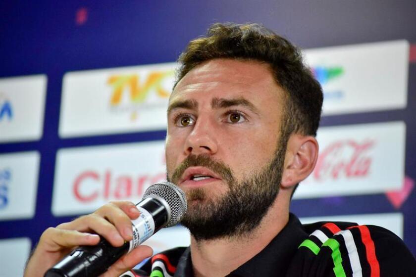El jugador de la selección mexicana de fútbol Miguel Layun. EFE/Archivo