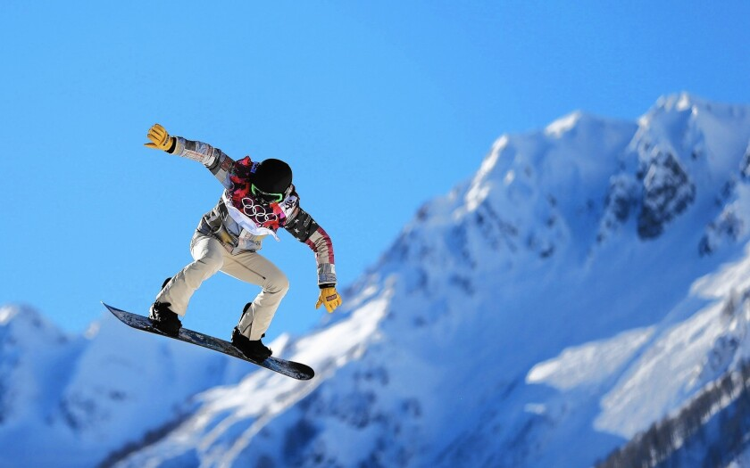 Shaun White, shown preparing for the 2014 Winter Olympics in Sochi, Russia, has made a seven digit investment in Mammoth Resorts, said Rusty Gregory, the company's chief executive.