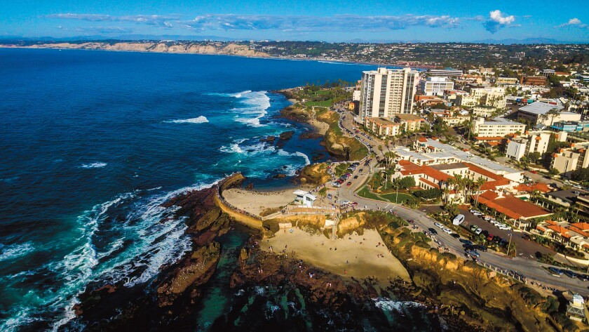 A view of La Jolla from above