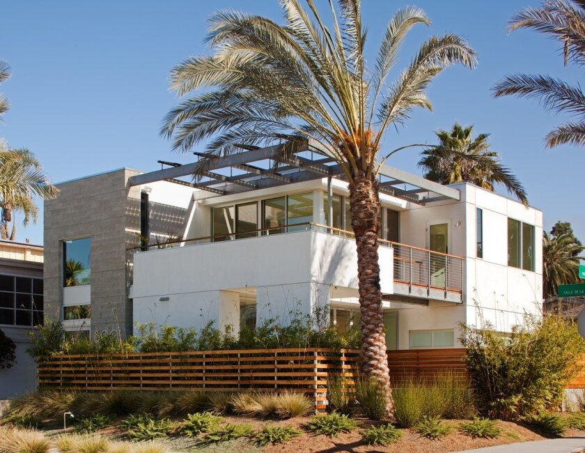 This home in La Jolla Shores is one of two honored with a Design Excellence Award.
