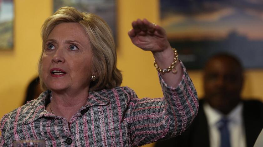 Hillary Clinton, precandidata a la presidencia de Estados Unidos.