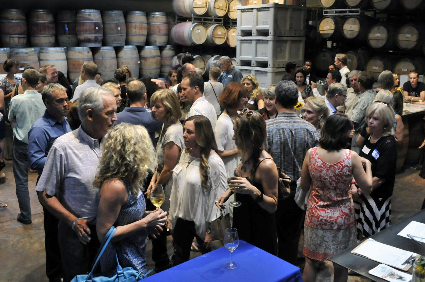 Carruth Cellars of Solana Beach hosted the event