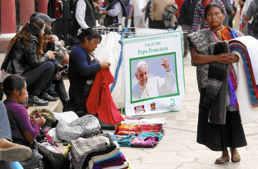 San Cristobal de Las Casas awaits the pope