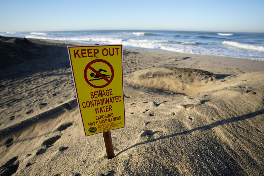 Imperial Beach prepares for the annual King Tide along the San Diego coastline.
