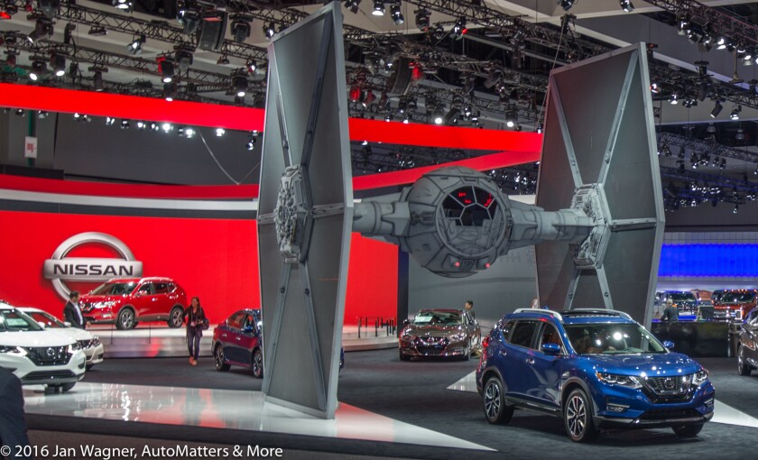 "Nissan ""Rogue One: A Star Wars Story"" TIE Fighter"
