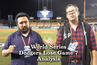 Analysis: Dodgers lose Game 7 and the World Series
