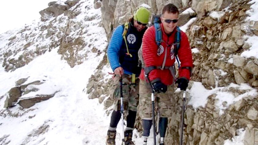 For former Hells Angel Tim Medvetz, no mountain is too high to climb