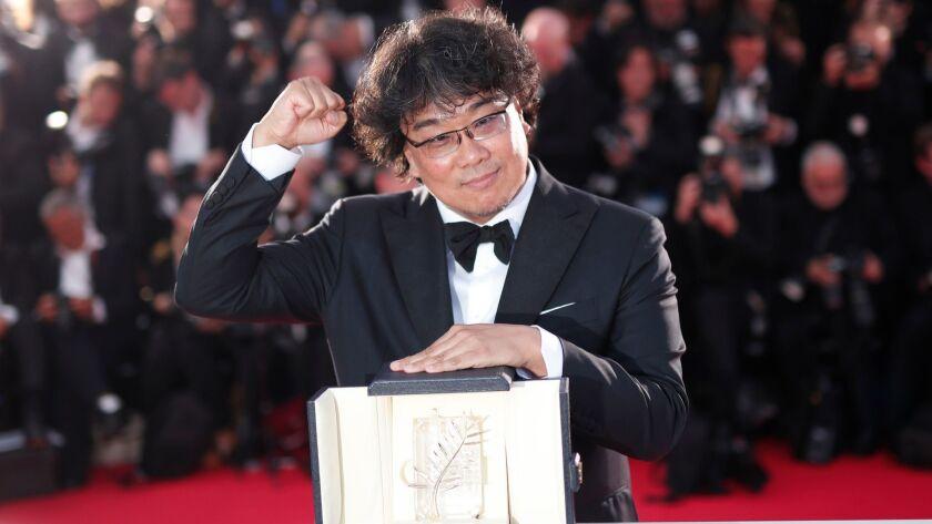 "Bong d'Or: Bong Joon Ho wins the Palme d'Or for ""Parasite"""