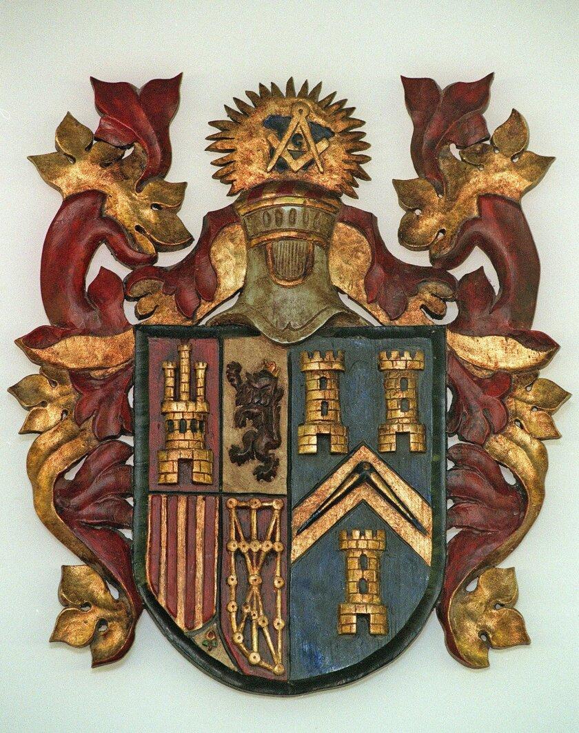 Imagen del escudo de la Gran Logia de España