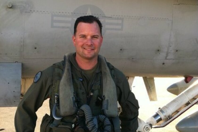 Maj. Richard Norton, 36, of Arcadia, was a pilot with the 3rd Marine Aircraft Wing, which is based at the Miramar Marine Corps Air Station.