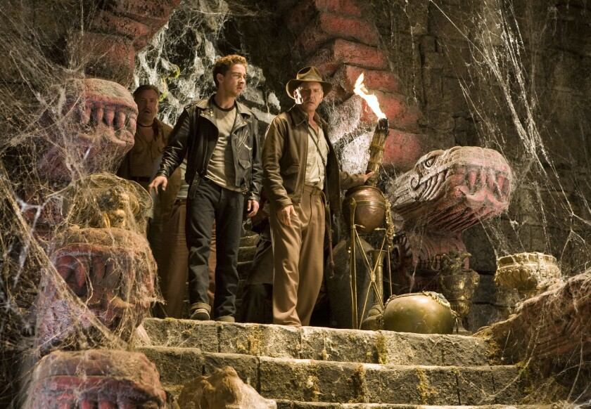 """Shia LaBeouf and Harrison Ford in """"Indiana Jones and the Kingdom of the Crystal Skull."""""""