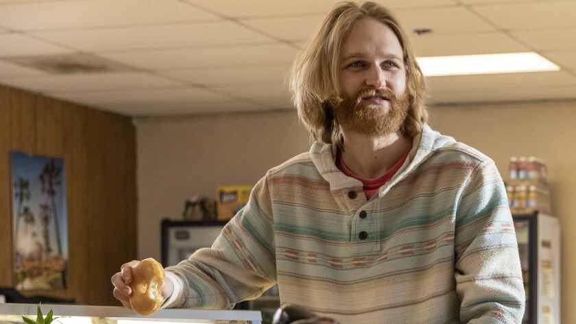 "Wyatt Russell in ""Lodge 49"" on AMC."
