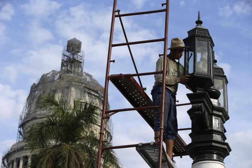 Cuba spent weeks preparing for President Obama's arrival
