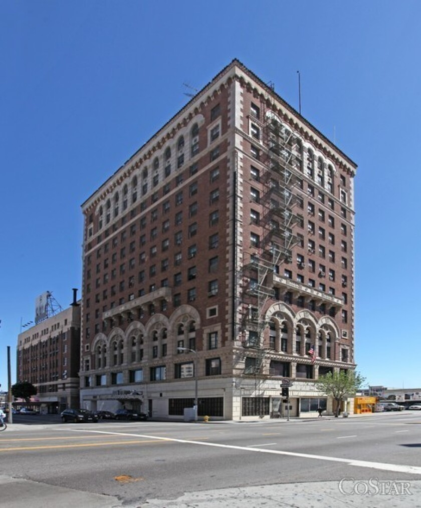 The former Case Hotel on Broadway in downtown Los Angeles is to be renovated and reopened.