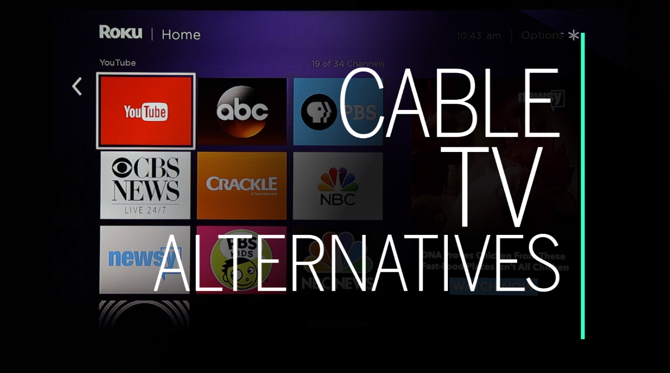 An overview of your cable TV alternatives