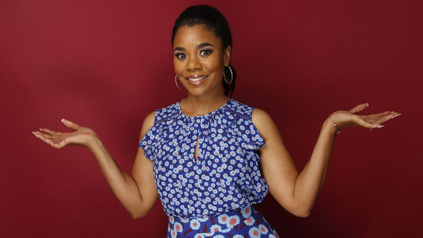 LOS ANGELES, CA., JUNE 21, 2017--Regina Hall is a film and TV actress and comedian. She is best know