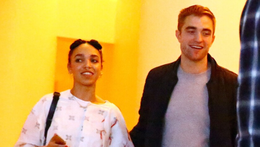 Singer FKA Twigs and Robert Pattinson are rumored to be engaged after T-Pain's April Fools' prank.