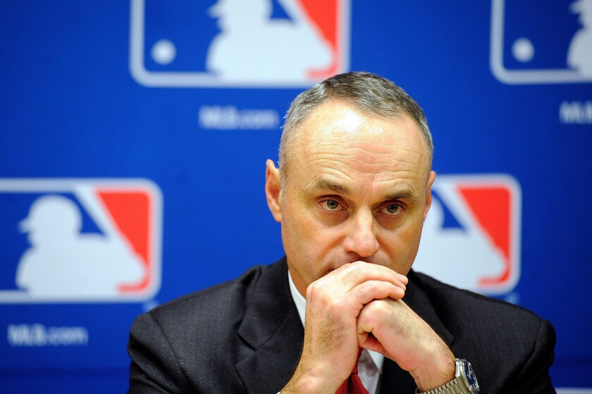 Major League Baseball Commissioner Rob Manfred has expressed an interest in having a club in an international city like Montreal, Mexico City or Monterrey, Mexico.