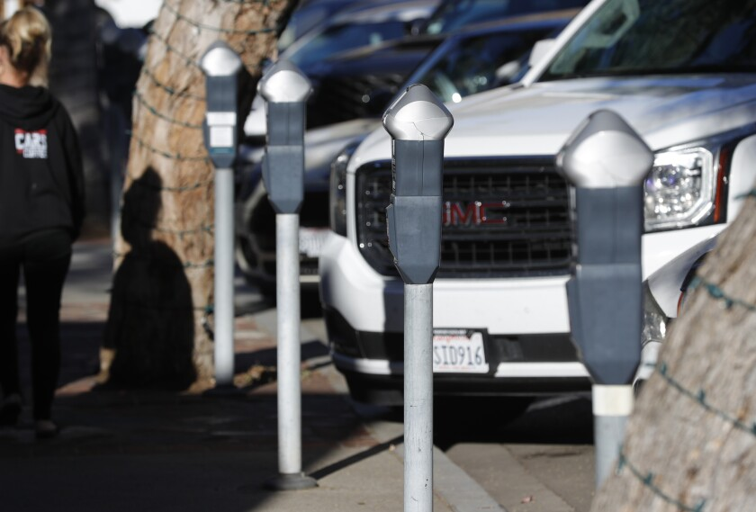 The Laguna Beach City Council voted to approve raising the rates at metered parking spaces.