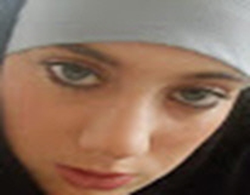 "Samantha Lewthwaite, dubbed the ""White Widow,"" is seen in an image provided by Interpol."