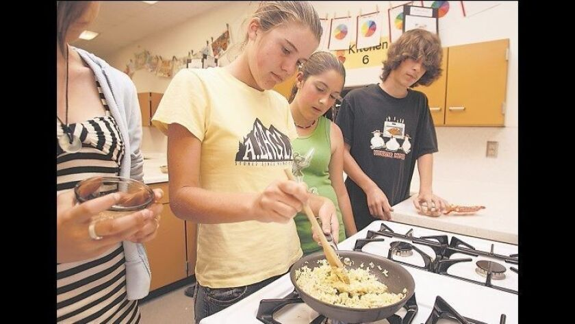 Kylie Walker, age 13, Chelsea Fitzsimmons, age 14, Brianna Larinto, age 13 and Brian Gahn, age 14 (f