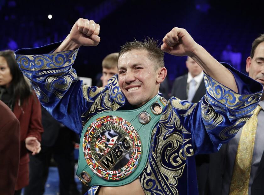 APphoto_Golovkin Return Boxing