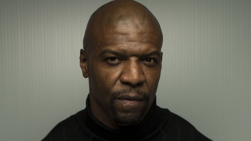 "PARK CITY,UTAH --SATURDAY, JANUARY 20, 2018-- Actors Terry Crews, from the film, ""Sorry to Bother"